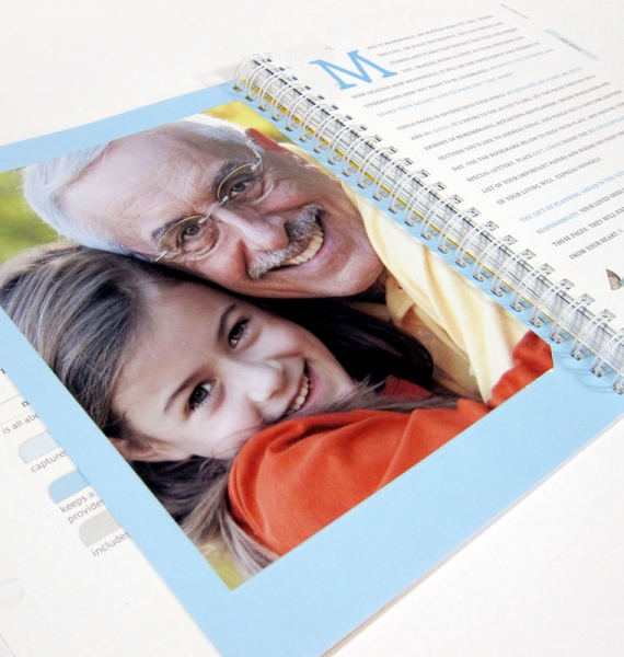 Nothing says personalization like a photo. Add a picture, drawing or other visual that has special meaning.